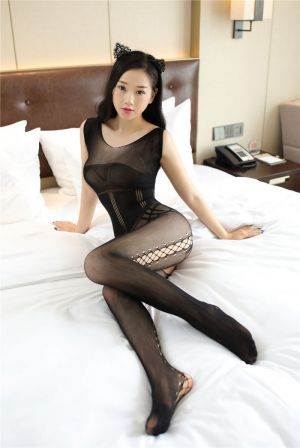 8525 BODYSTOCKING BLACK